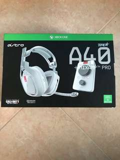 Astro a40s TR headset