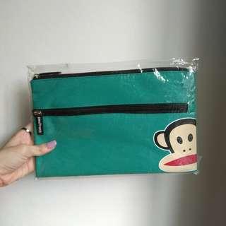 🚚 Paul Frank Pencil Case (teal) #CarouPay