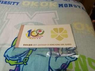 Hong Kong Post Stamp 香港郵政郵票套摺香港女童軍百週年小本票girl guides booklet