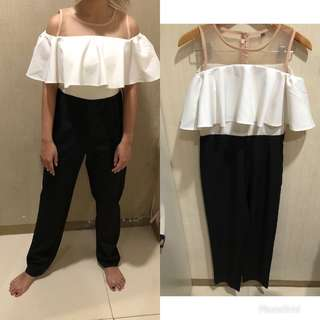 Black White Jumpsuit (Very recommended)