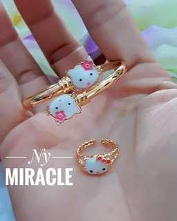 Gelang n cincin xuping anak lucu murah