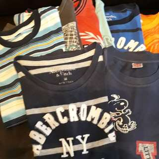 Bundle of Boys Shirts for 3-5 years old