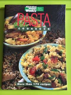 Pasta Cookbook w Colourful Pictures