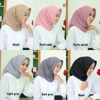 Voal square / hijab murah