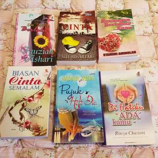 Preloved Malay Novels