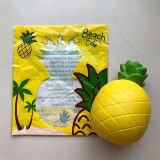 SQUISHY chawa pineapple