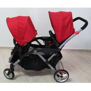 Contours Double Stroller for sale!