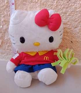 Hello Kitty McDo Big Mac Stuff Toy