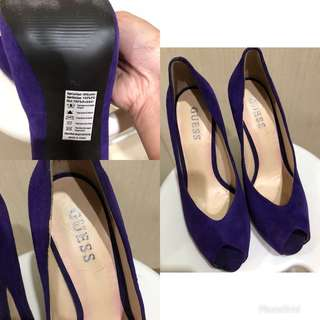 Purple Guess Heels
