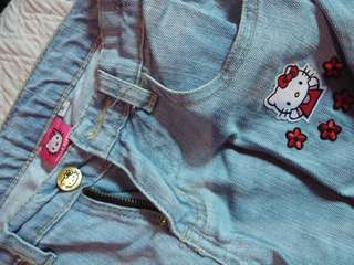 Hello kitty Maong Pants