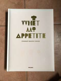 Whet my appetite culinary graphic design
