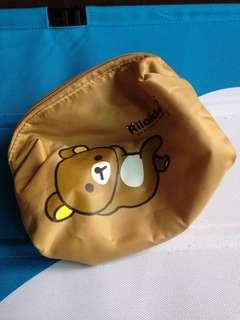🚚 拉拉熊化妝包 收納包 隨身包 小包 零錢包