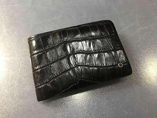 Oroton aligator real leather men bifold wallet