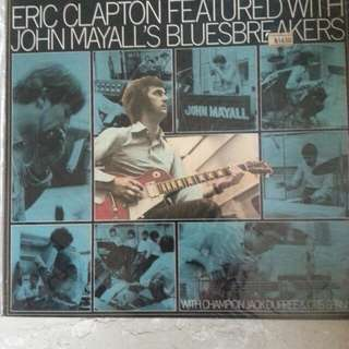 Eric Clapton blues breaker Lp Vinyl Record