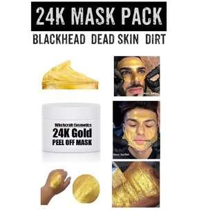 24K Gold Karat Mask