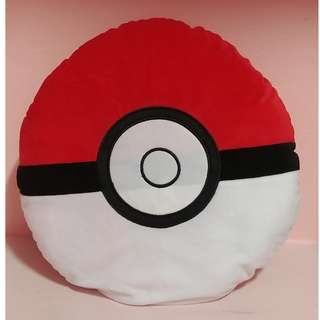 [INSTOCK] Pokemon Red Pokeball Pillow Cushion Plush 35cm