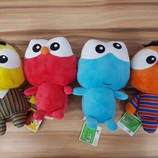 Sesame Street Plush Toys!