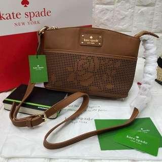 Kate Spade leather flower design