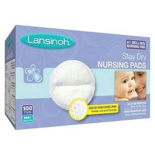 Lansinoh Disposable Nursing Pads 60s or 100s