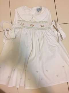 EMBROIDERY DRESS 2years 24mth