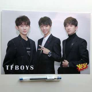 TFboy Yes! Card 第33期 偶像海報 Poster