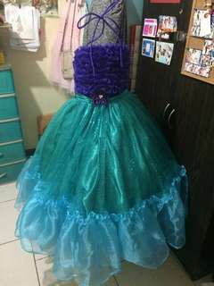 Free SF: Princess Ariel, The Little Mermaid Inspired Gown