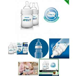 Philips Avent Classic Plus Bottle 4oz / 125ml ( Twin pack)