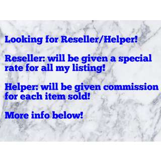 [LF] Reseller / Helper