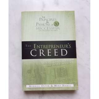 The Entrepreneur's Creed by Merrill Oster & Mike Hamel