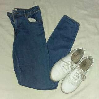 Mw soft denim pants