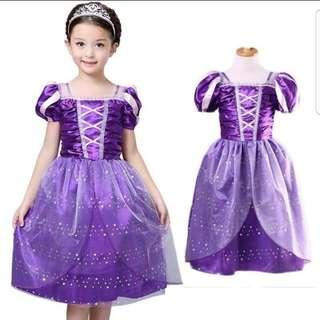Rapunzel Princess Costume