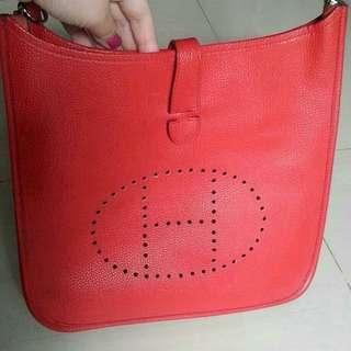 Hermes evelyn ori leather