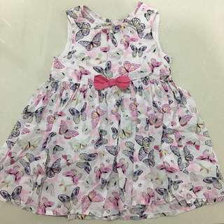 Baby Butterfly Printed Dress