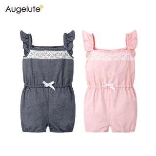 夏季女童吊帶連身褲