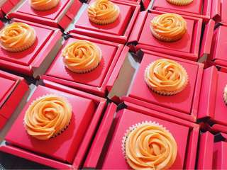 Cupcakes for giveaways