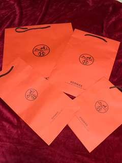 Authentic Hermes Paperbag