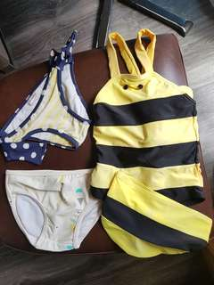Assorted Toddler Swimwear 2-3yrs old