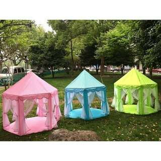 *FREE DELIVERY to WM only / Ready stock, offer* Princess castle tent each as shown design/color. Free delivery is applied for this item.   NP RM198