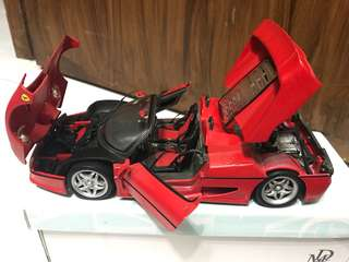 Ferrari F50 1/18 Metal Cast model
