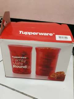 Tupperware family mate round