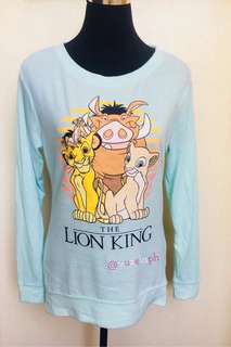 Authentic Fifth Sun The Lion King Fleece Sweater