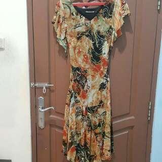 Sifon long dress