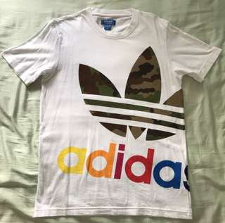 Adidas Originals Color Block It Out Camo Tee