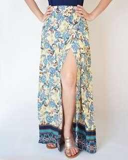 Maxi skirt Garterized
