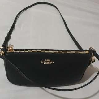 Authentic coach pouch bag