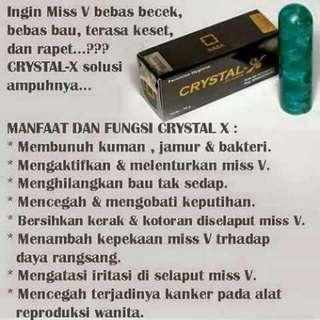 Cristal x nasa