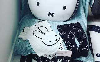 Miffy body suit and pants set