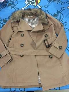 日本毛領大衣