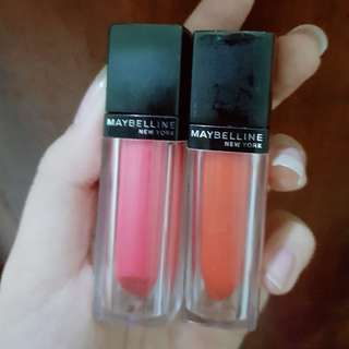 Maybelline velvet matte by color sensational