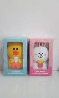BN Line Friends Portable Fan